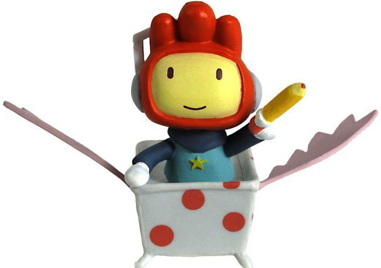 Scribblenauts Maxwell 2-Inch Mini Figure [In Tub]