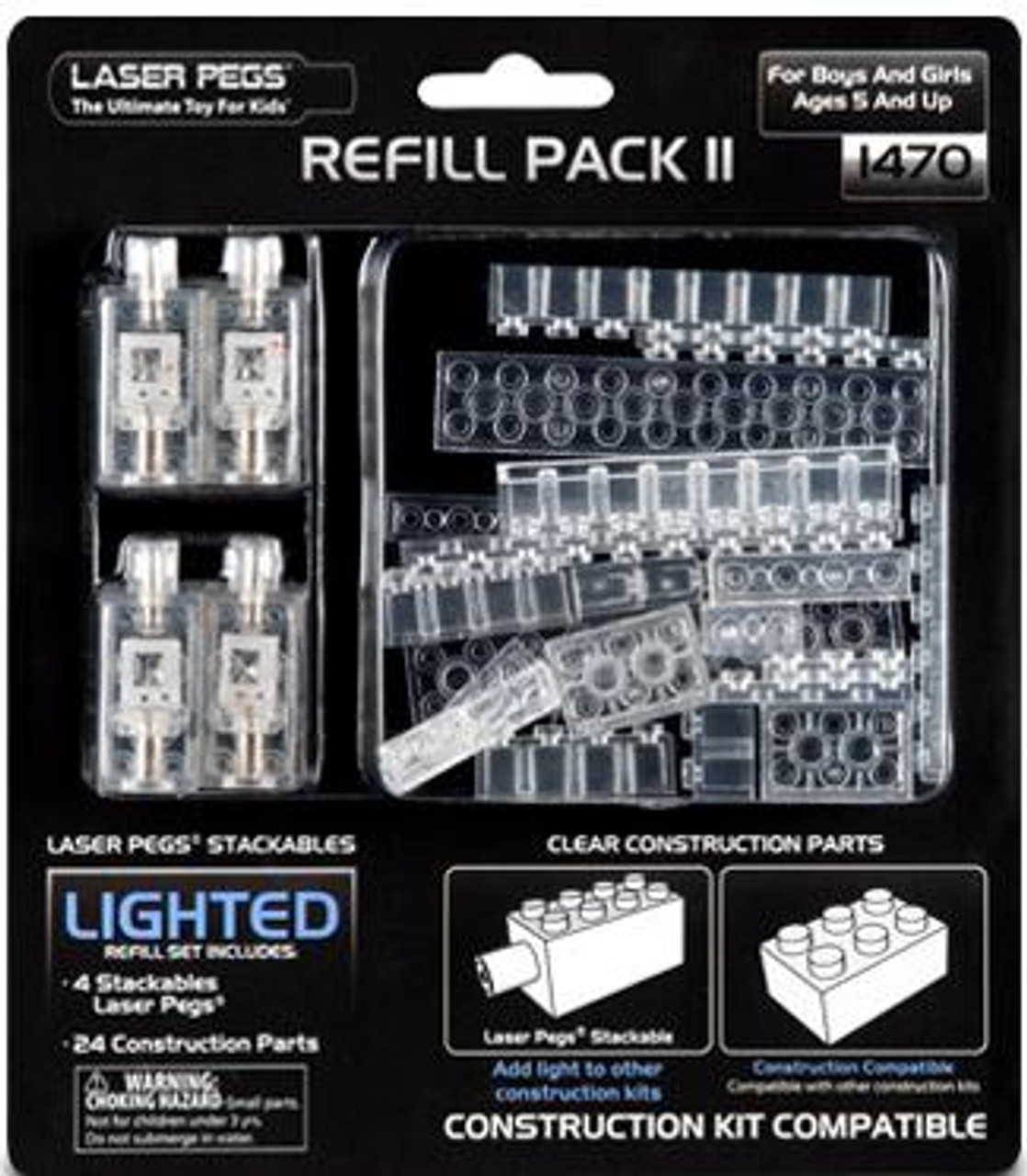Laser Pegs Refill Pack 2 Building Set #1470