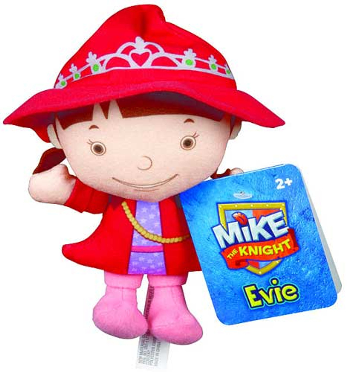 Fisher Price Mike the Knight Evie 6-Inch Plush