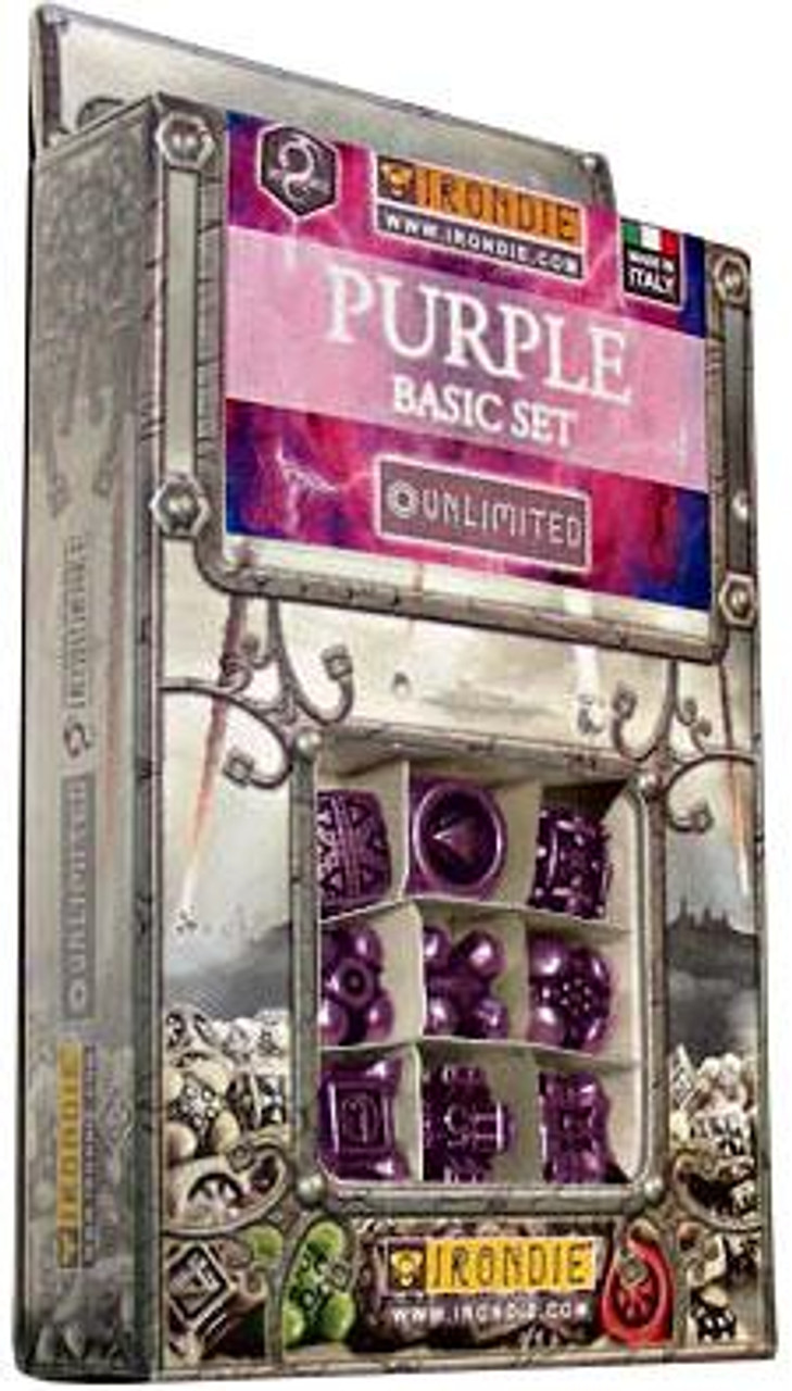 IronDie Unlimited Purple Basic Starter Set