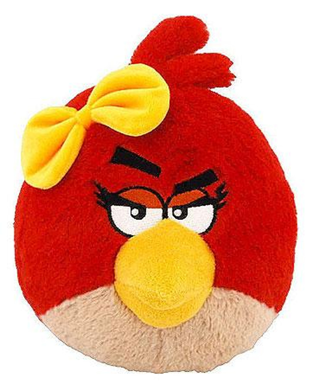 Angry Birds Red Girl Bird 8-Inch Plush [With Sound]