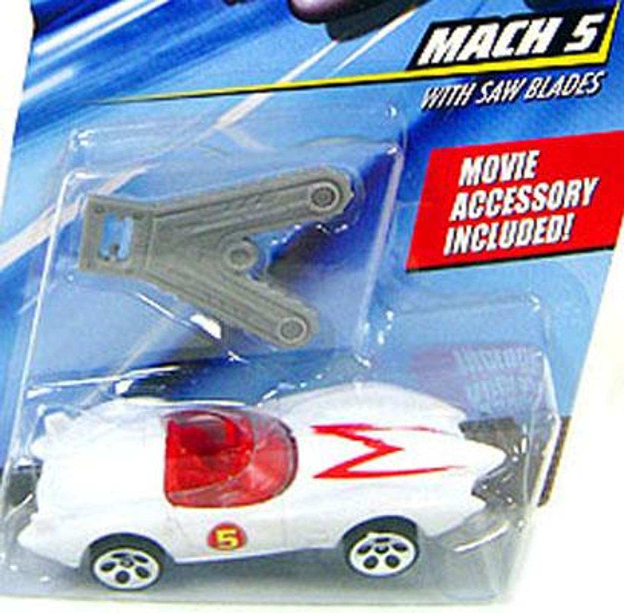 Speed Racer Hot Wheels Mach 5 1/6 Diecast Vehicle