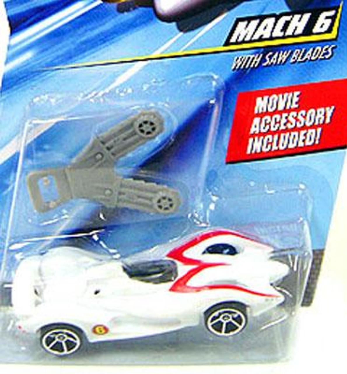 Speed Racer Hot Wheels Mach 6 1/6 Diecast Vehicle