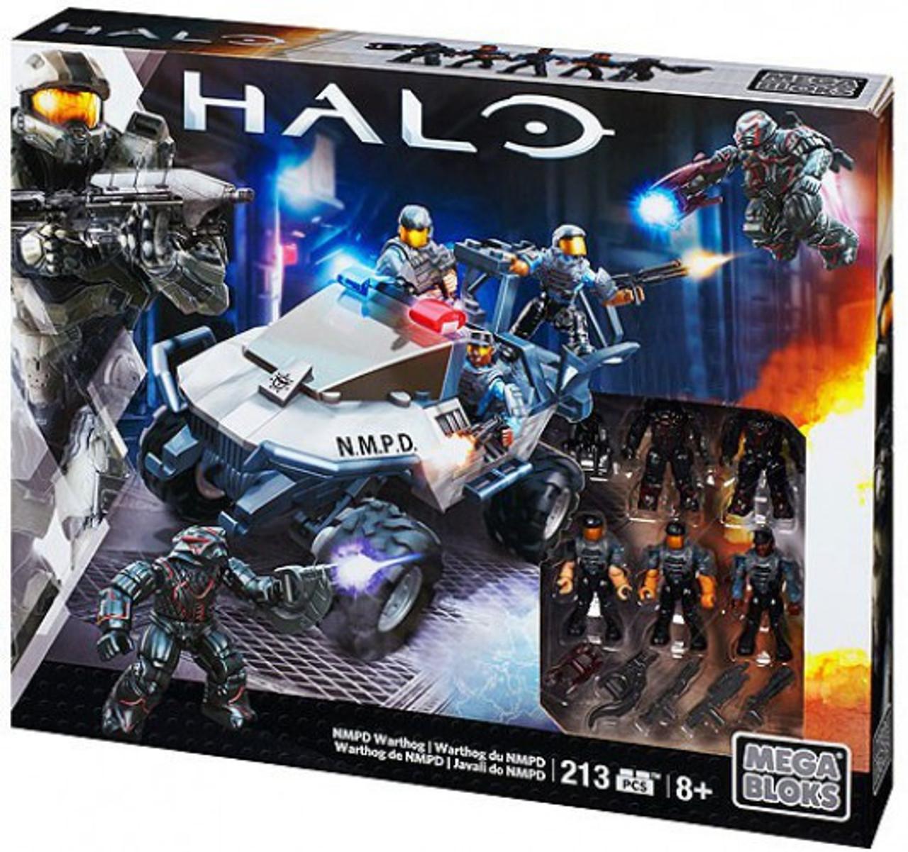 Mega Bloks Halo NMPD Warthog Set #38175