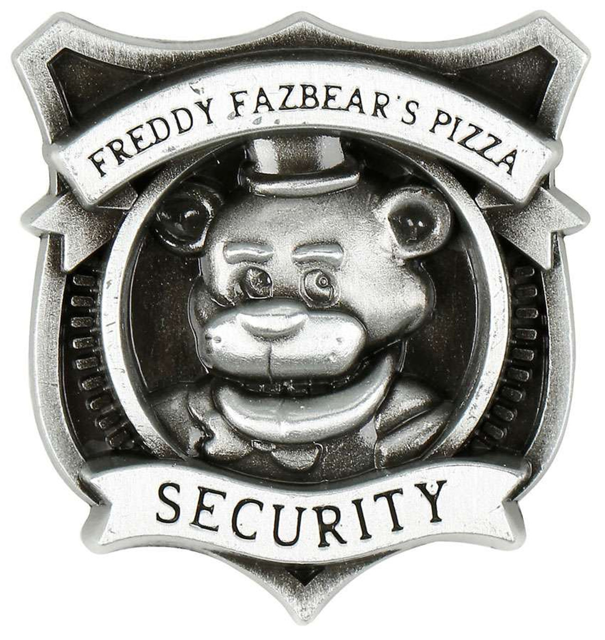 Five nights at freddys security pin bioworld toywiz