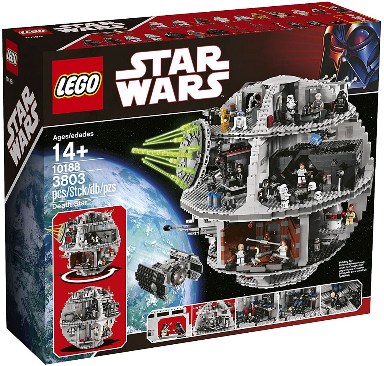 LEGO Star Wars Return of the Jedi Death Star Exclusive Set #10188