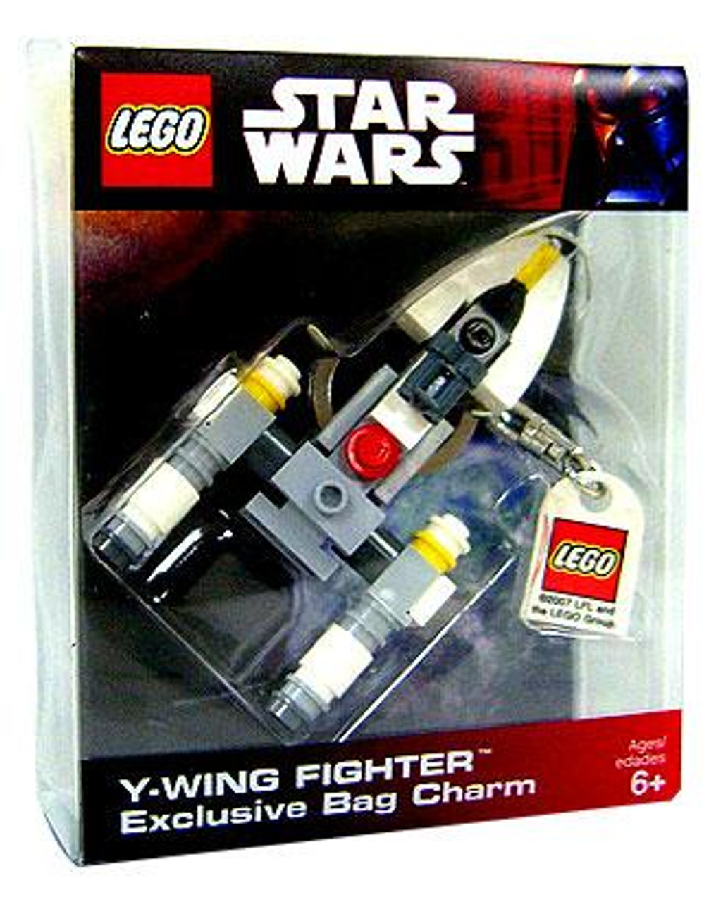 LEGO Star Wars A New Hope Y-Wing Fighter Bag Charm Exclusive