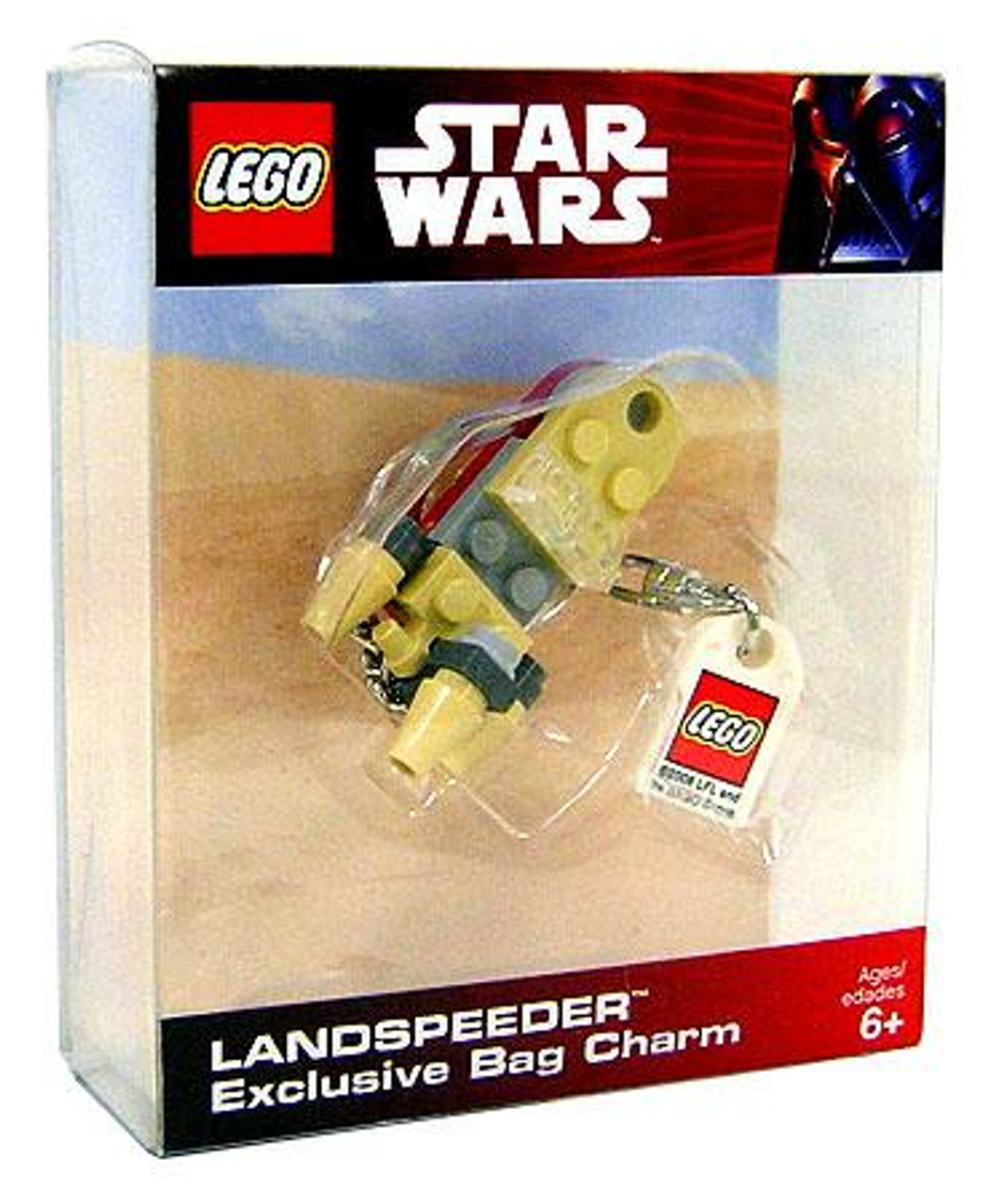 LEGO Star Wars Landspeeder Bag Charm Exclusive