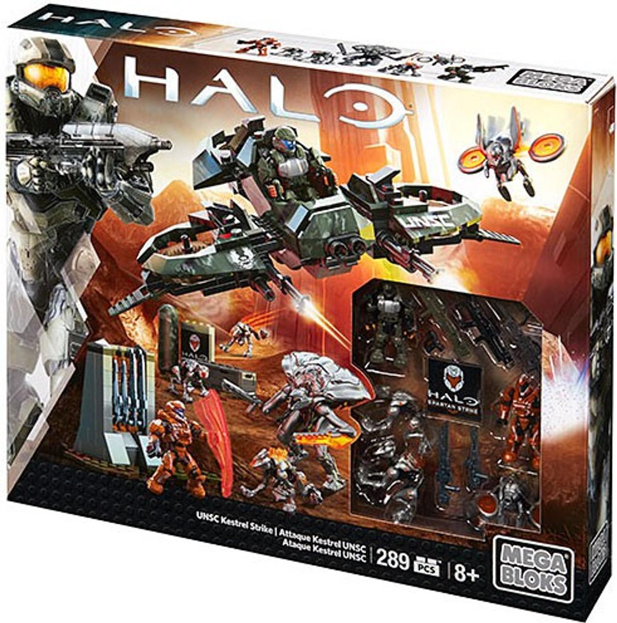 Mega Bloks Halo UNSC Kestrel Strike Exclusive Set #32731