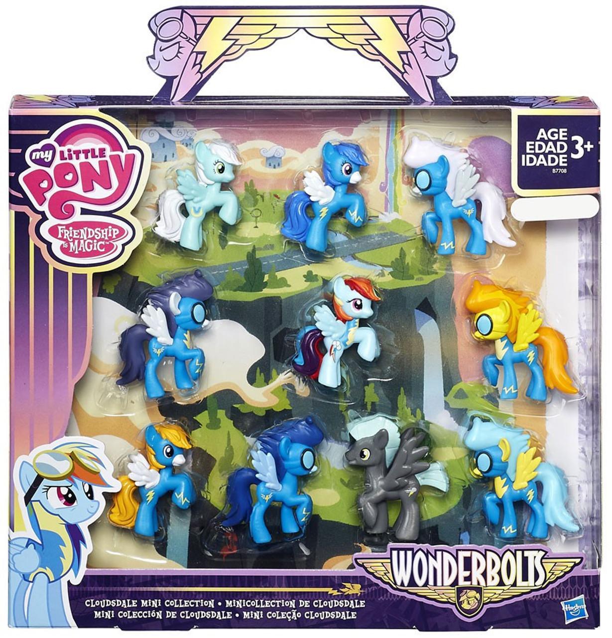 My Little Pony Friendship Is Magic Wonderbolts Cloudsdale