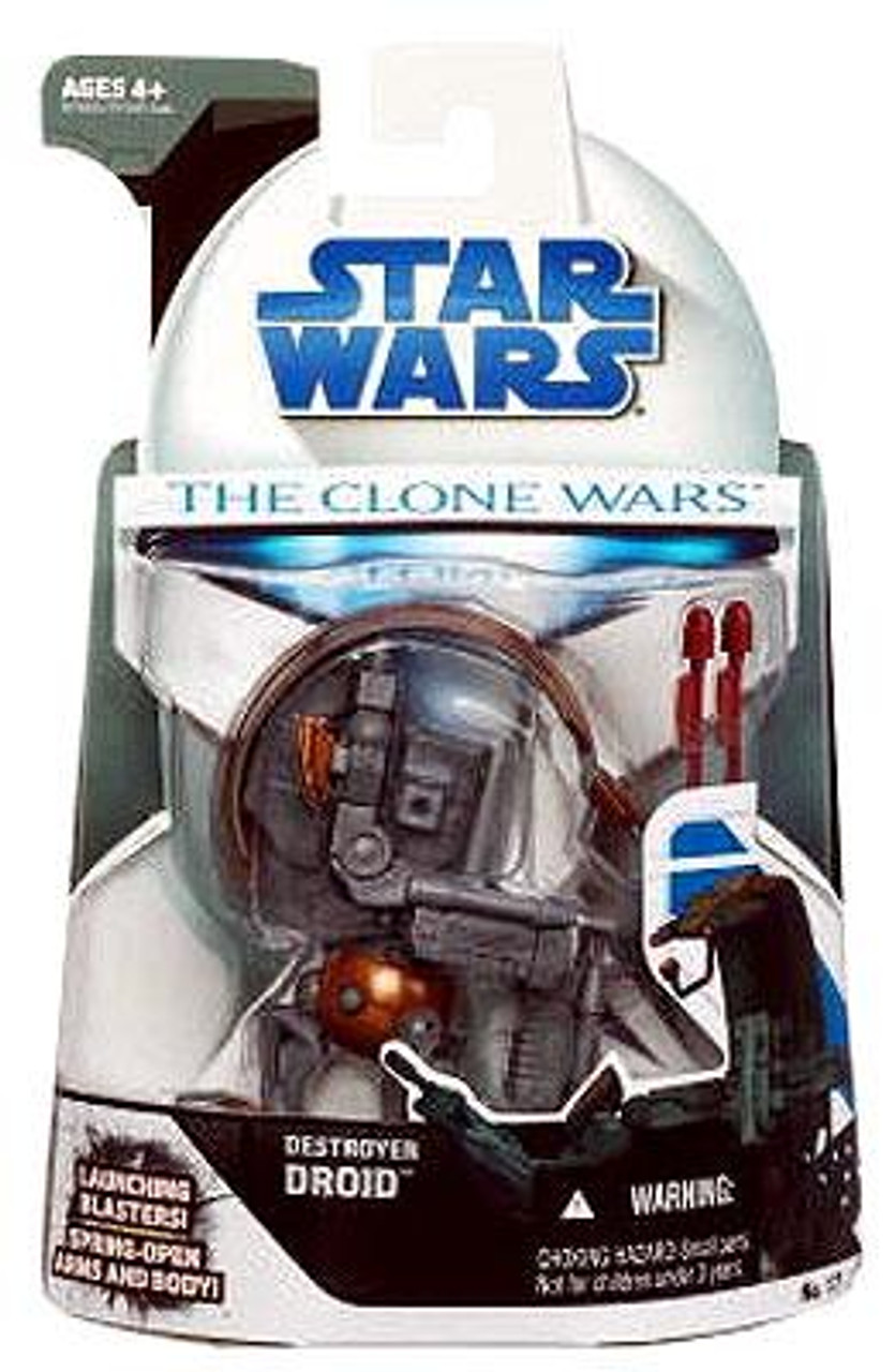 Star Wars The Clone Wars Clone Wars 2008 Destroyer Droid Action Figure #17