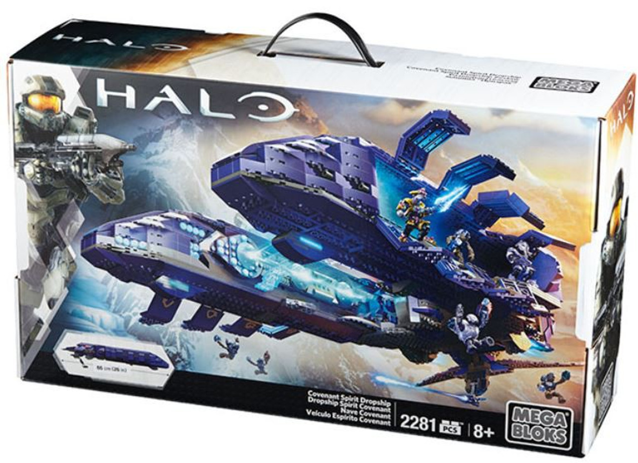 Mega Bloks Halo Covenant Spirit Dropship Exclusive Set #31847