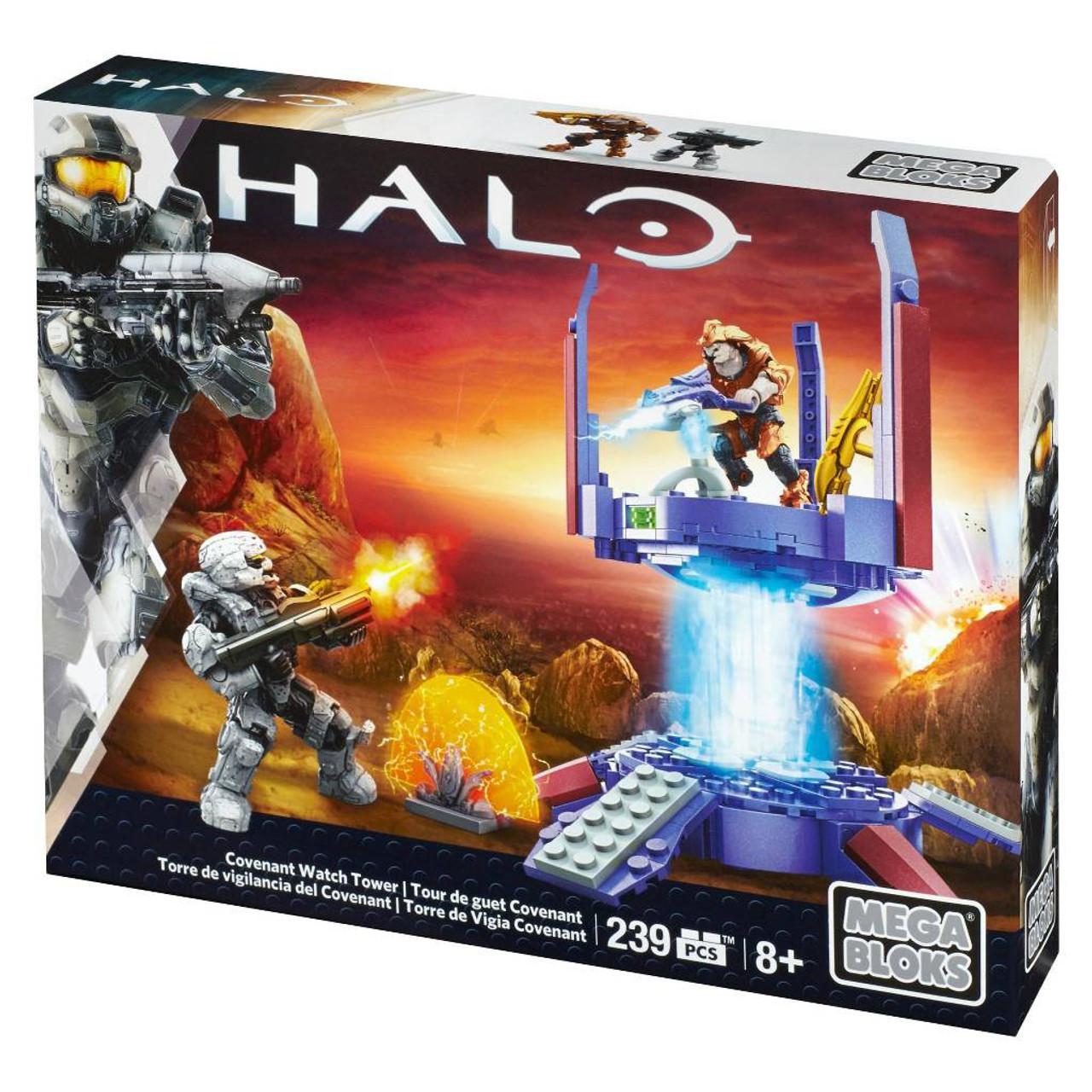 Mega Bloks Halo Covenant Watch Tower Set #24903