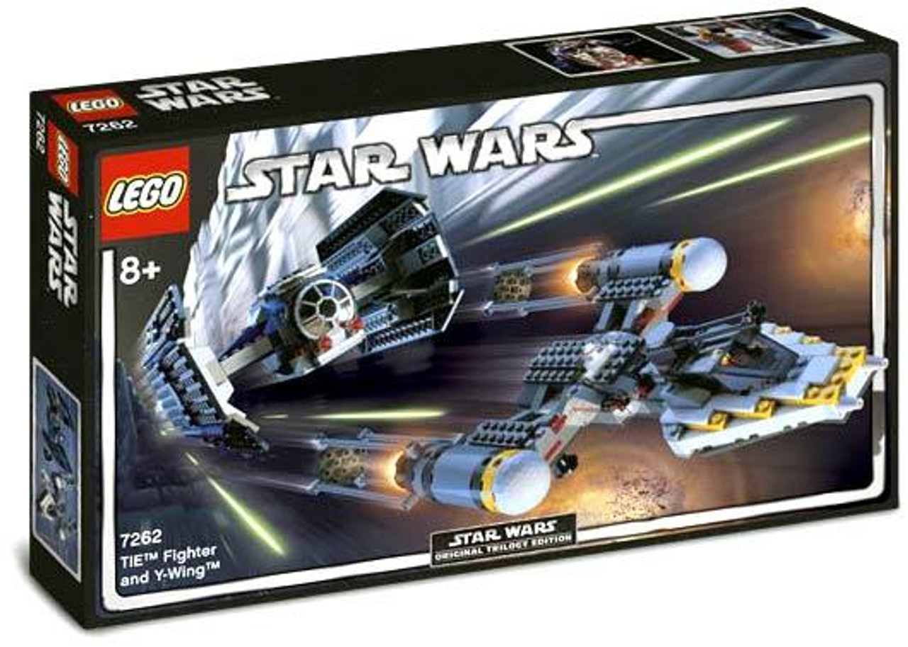 LEGO Star Wars A New Hope TIE Fighter and Y-Wing Set #7262