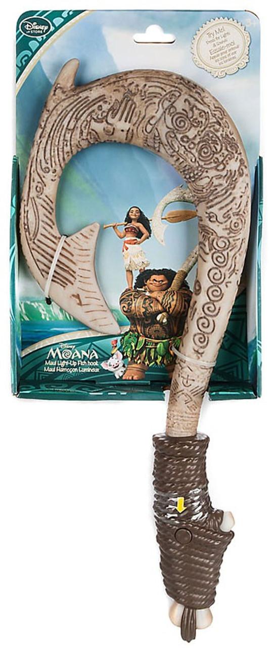 Disney moana maui light up fish hook exclusive toywiz for Maui fish hook moana