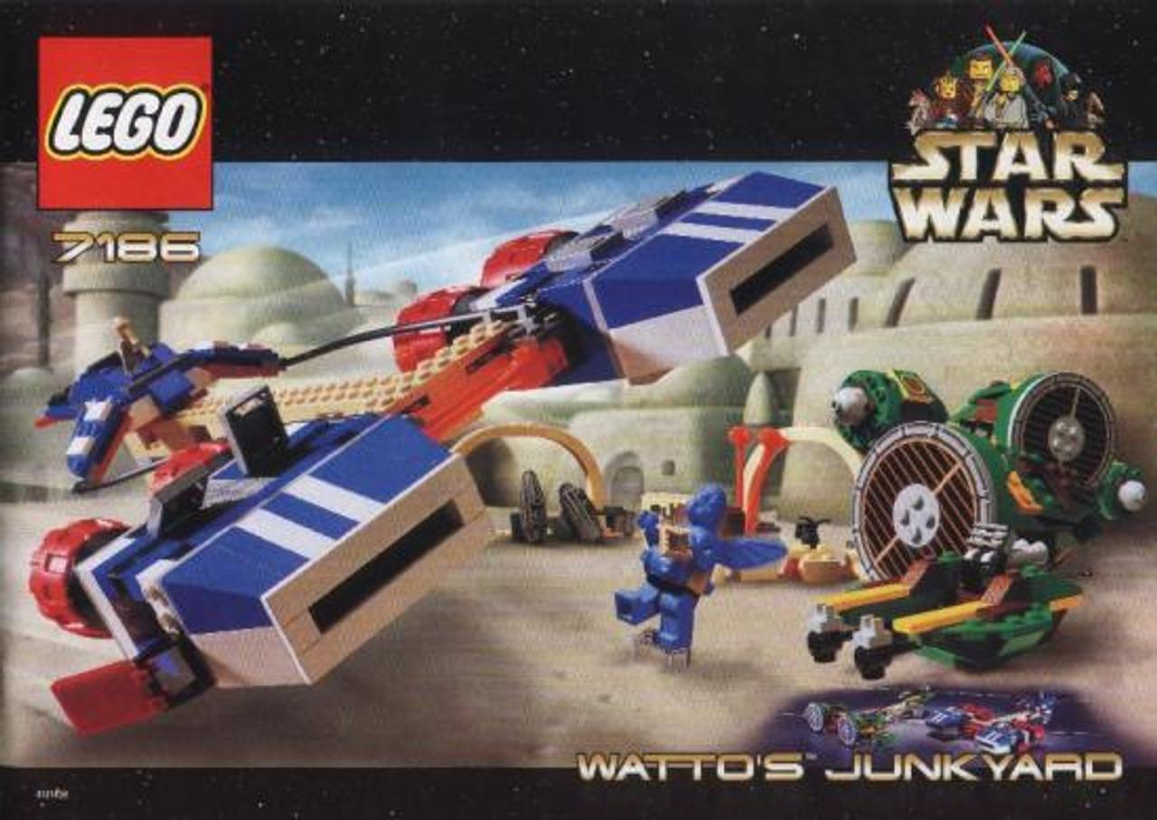 LEGO Star Wars The Phantom Menace Watto's Junkyard Set #7186