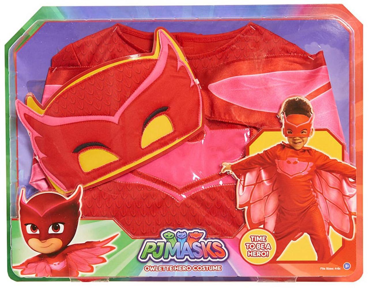 Disney Junior Pj Masks Owlette Costume 4 6x Just Play Toywiz