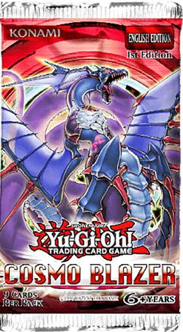 YuGiOh Cosmo Blazer Booster Pack