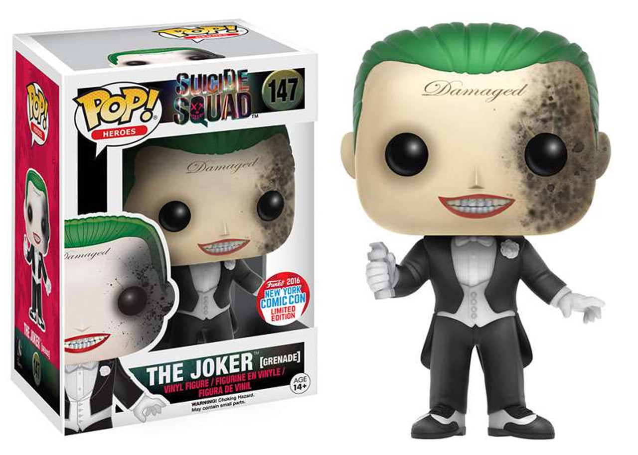 Funko Dc Suicide Squad Funko Pop Heroes The Joker