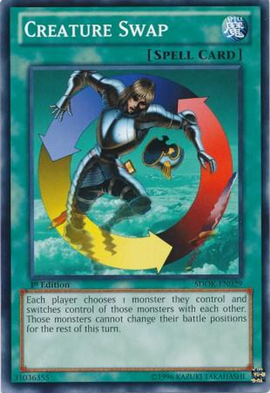 YuGiOh Structure Deck: Onslaught of the Fire Kings Common Creature Swap SDOK-EN029