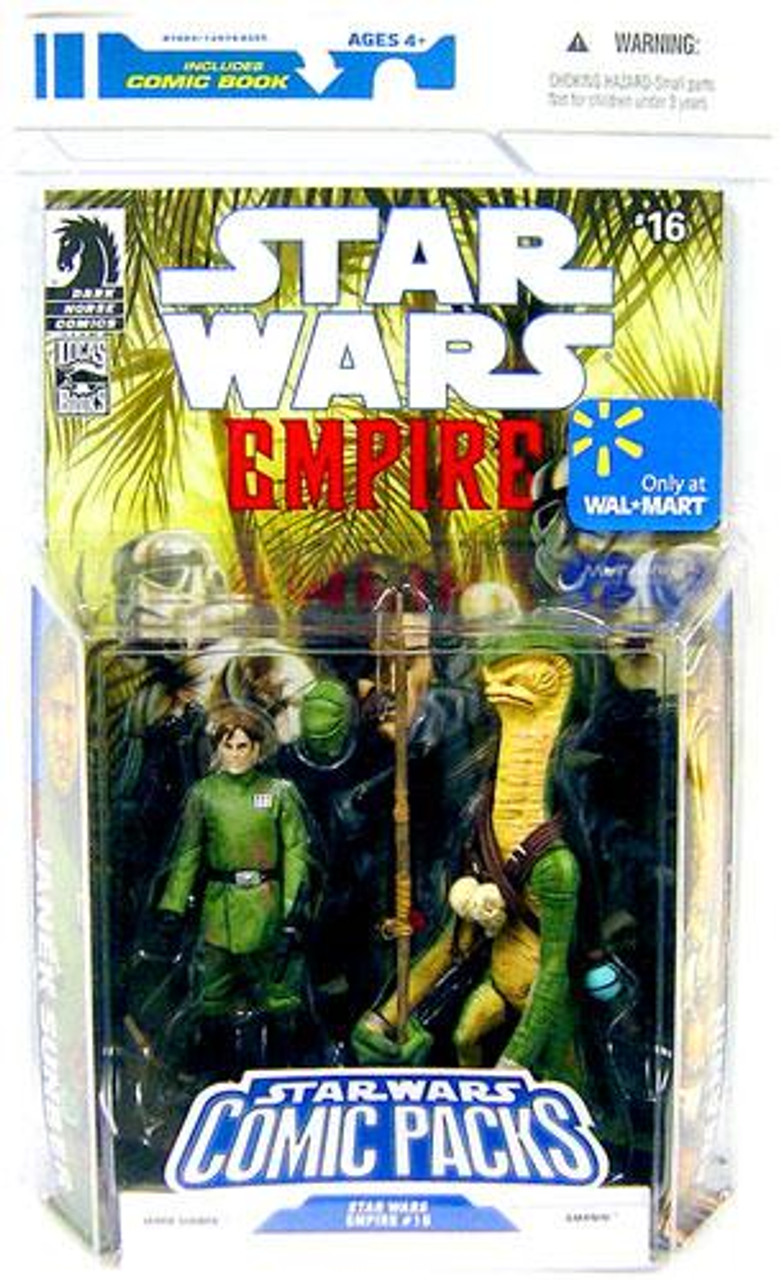 Star Wars Expanded Universe Comic Packs 2009 Janek Sunber & Amanin Exclusive Action Figure 2-Pack #16