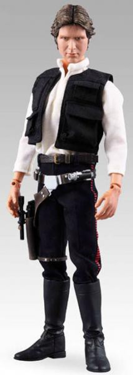 Star Wars A New Hope Real Action Heroes Han Solo 12 Inch Action Figure