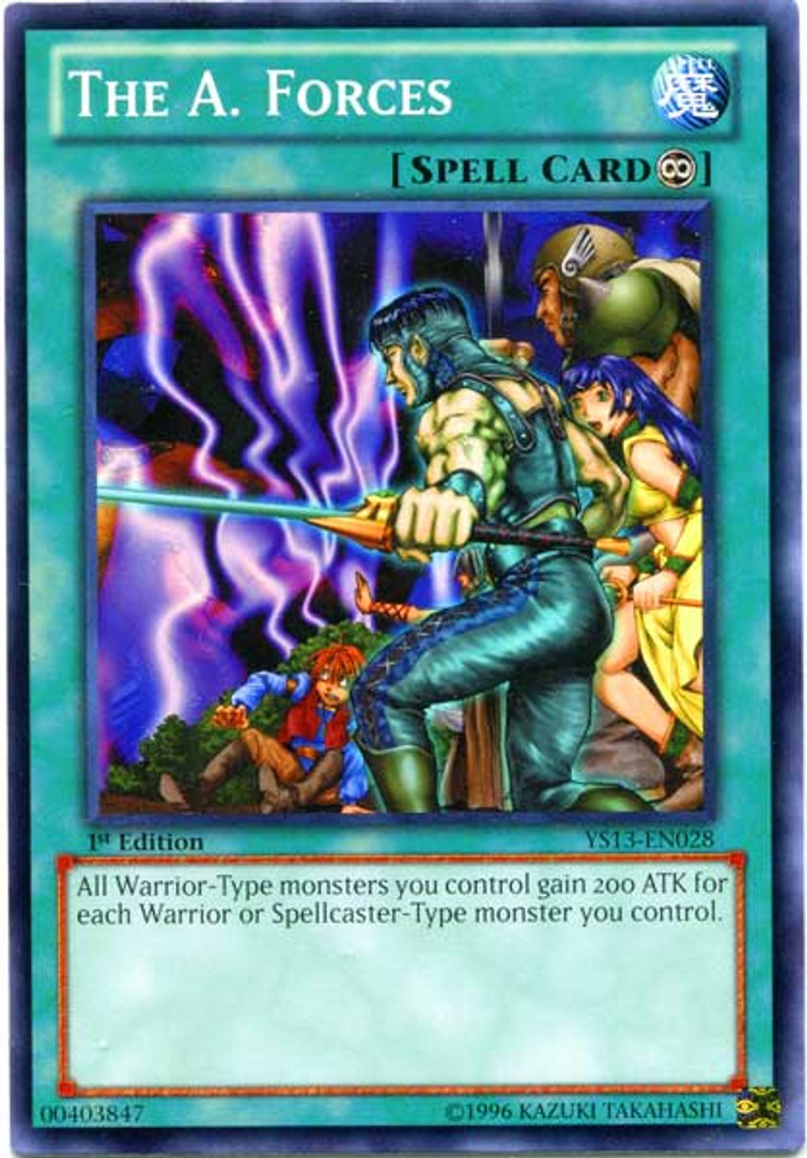 YuGiOh 2013 Super Starter: V for Victory Common A. Forces YS13-EN028
