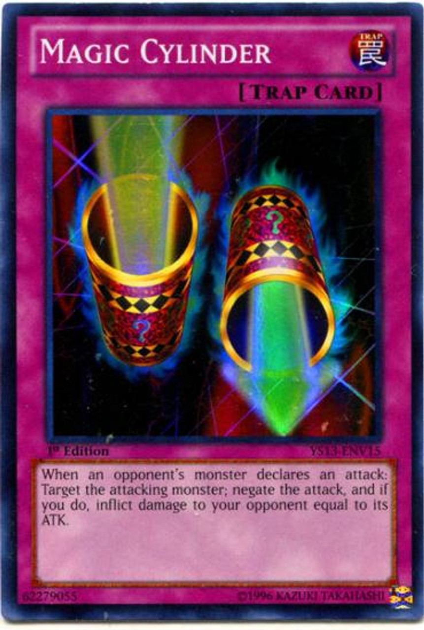 YuGiOh 2013 Super Starter: V for Victory Super Rare Magic Cylinder YS13-ENV15