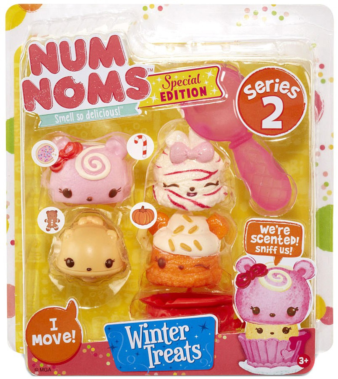 num noms series 2 winter treats 4 pack mga entertainment toywiz. Black Bedroom Furniture Sets. Home Design Ideas