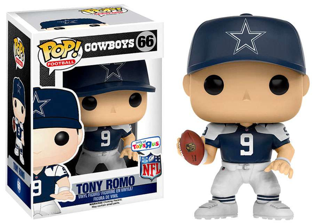 Funko NFL Dallas Cowboys Funko POP Sports Tony Romo Exclusive Vinyl Figure 40 Throwback Jersey
