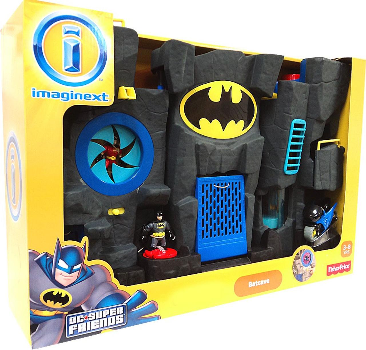 fisher price dc super friends batman imaginext batcave exclusive