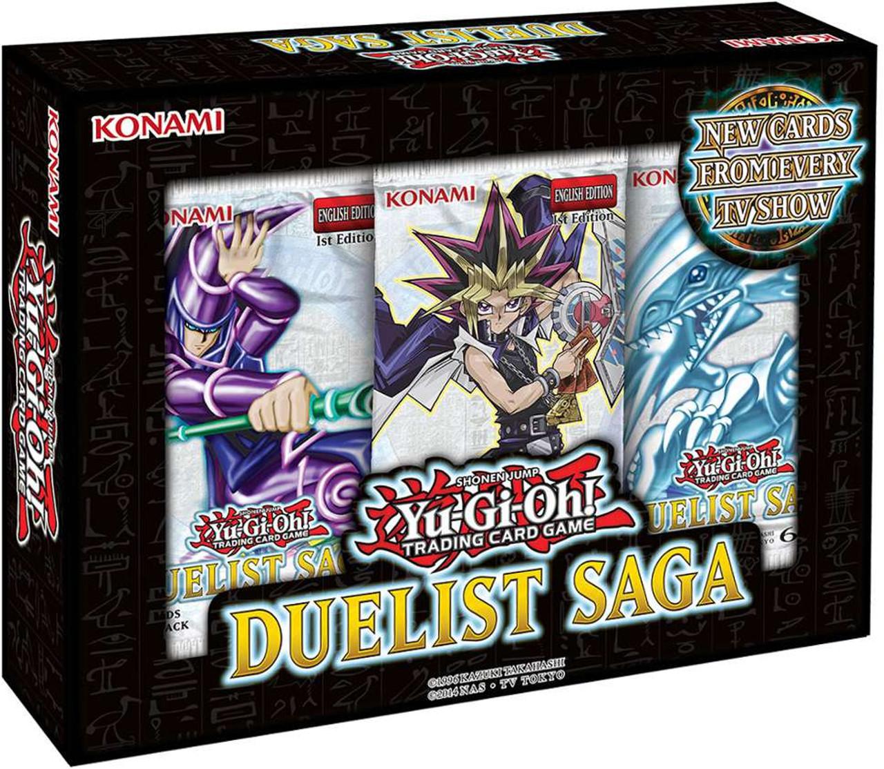 Yugioh Duelist Saga Mini Box 3 Booster Packs Konami Toywiz