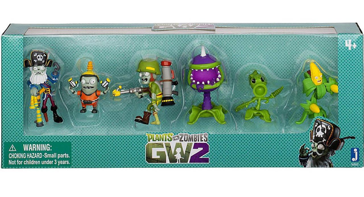 Plants Vs Zombies Garden Warfare 2 Garden Warfare 2 Mini Figure 6 Pack Jazwares Toywiz