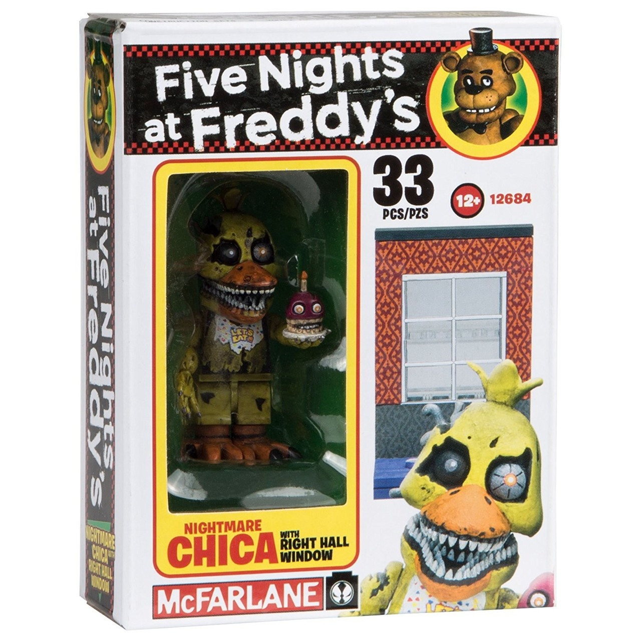 5 Nights At Freddy Toys : Mcfarlane toys five nights at freddys nightmare chica with