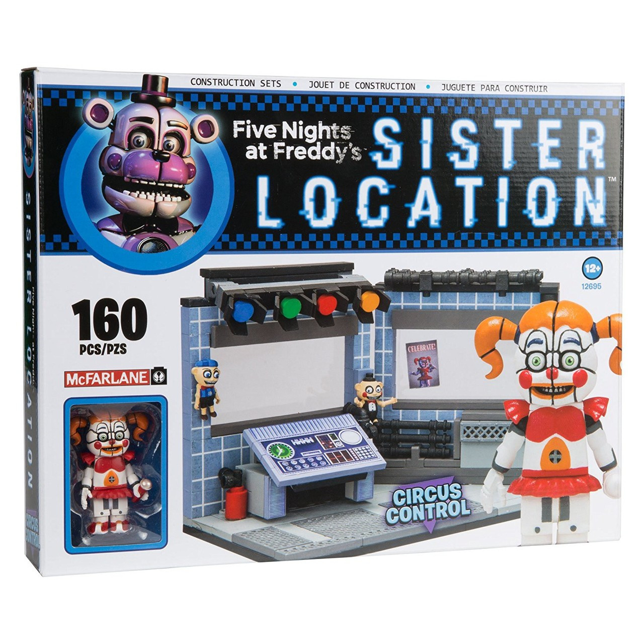Mcfarlane Toys Five Nights At Freddys Sister Location