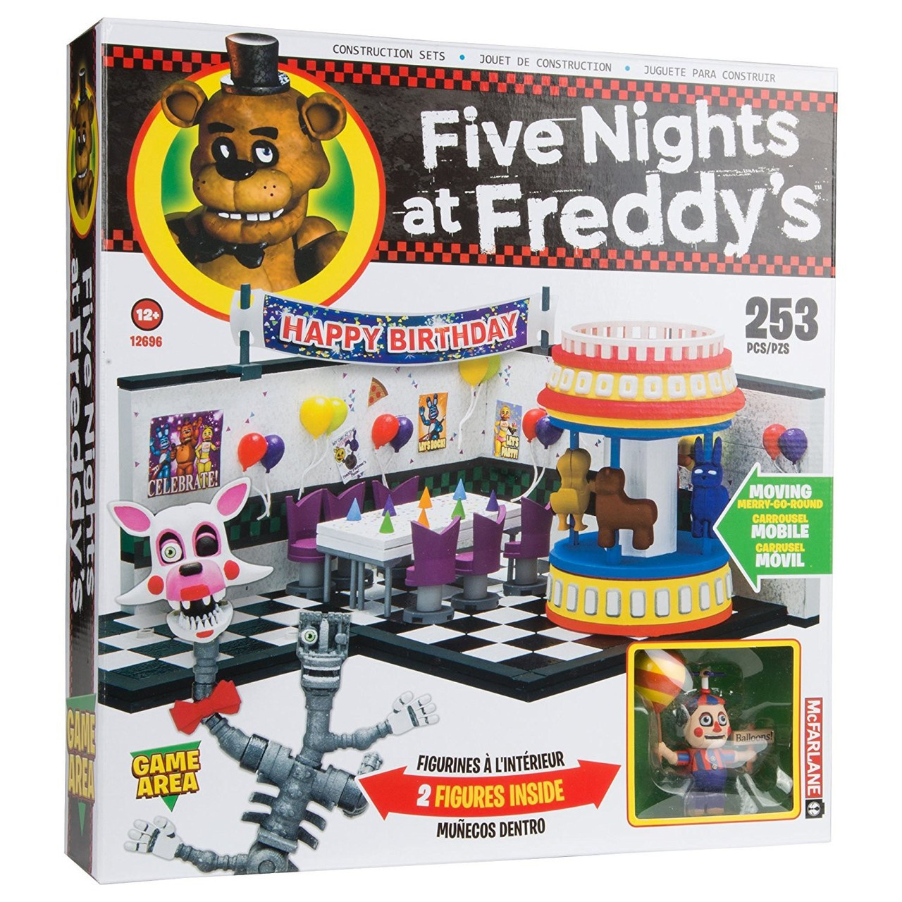 5 Nights At Freddy Toys : Mcfarlane toys five nights at freddys game area