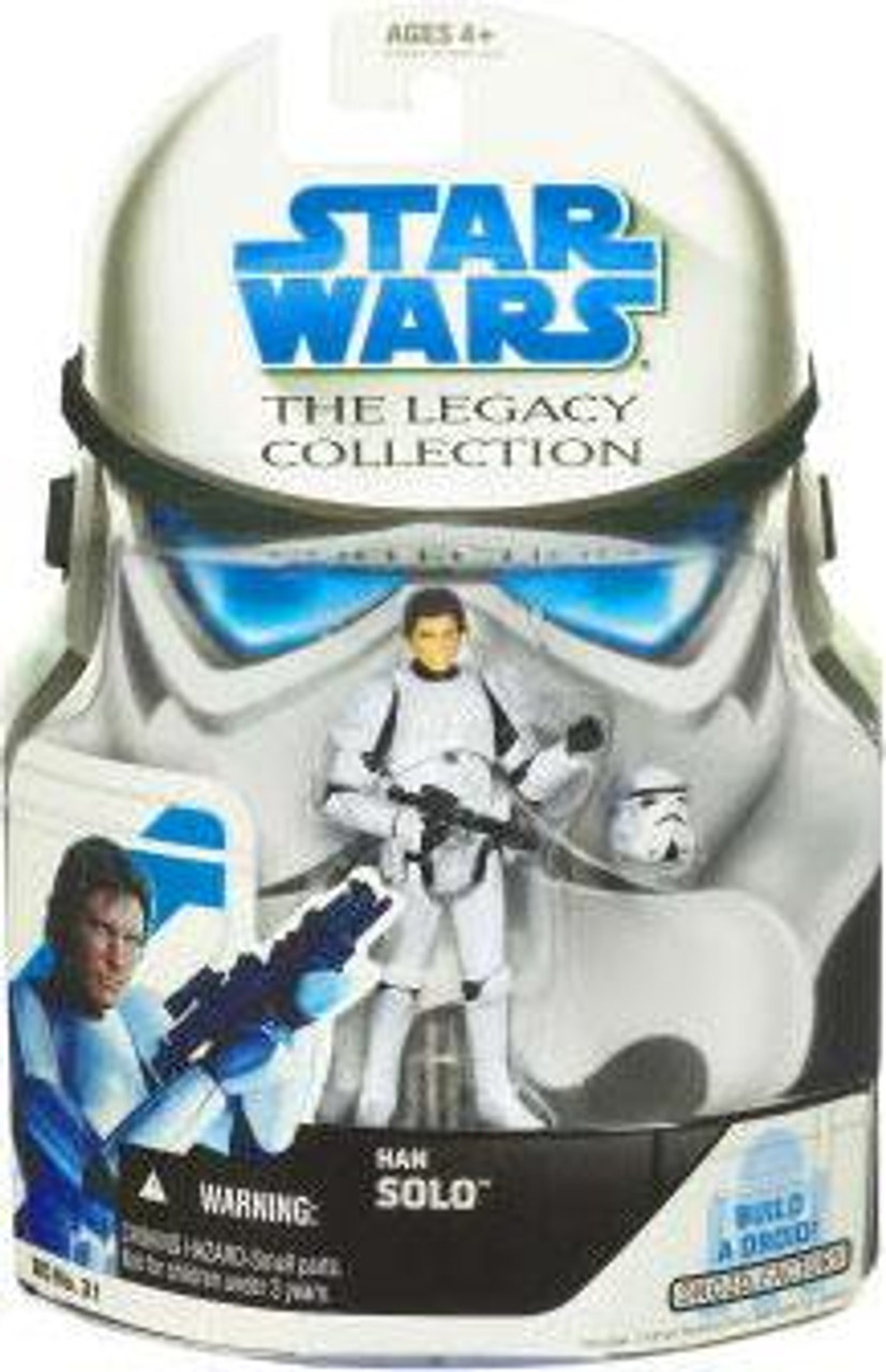 Star Wars A New Hope Legacy Collection 2008 Droid Factory Han Solo Action Figure BD31 [Stormtrooper]