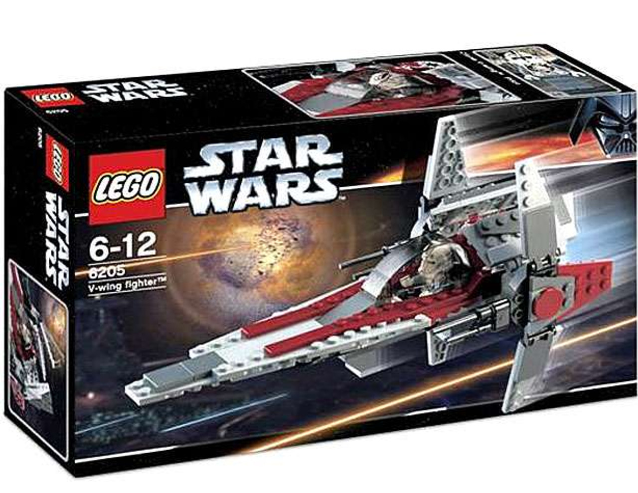 LEGO Star Wars Revenge of the Sith V-Wing Fighter Set #6205 [Damaged Package]
