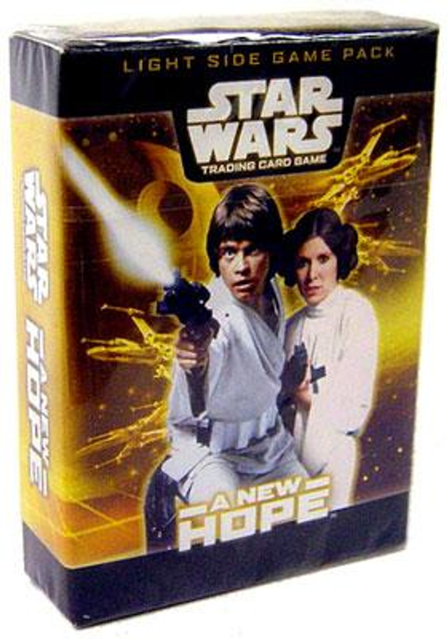 Star Wars Trading Card Game A New Hope Light Side Game Pack