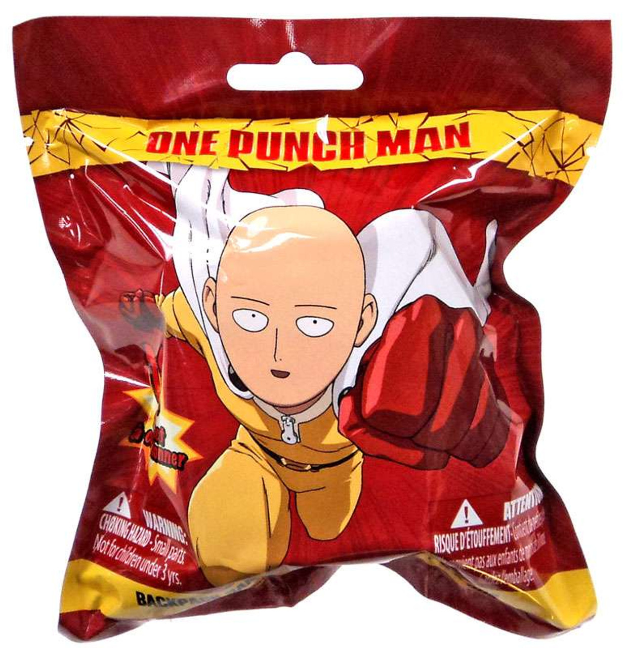 Backpack Hanger Clip Ons One Punch Man Mystery Pack