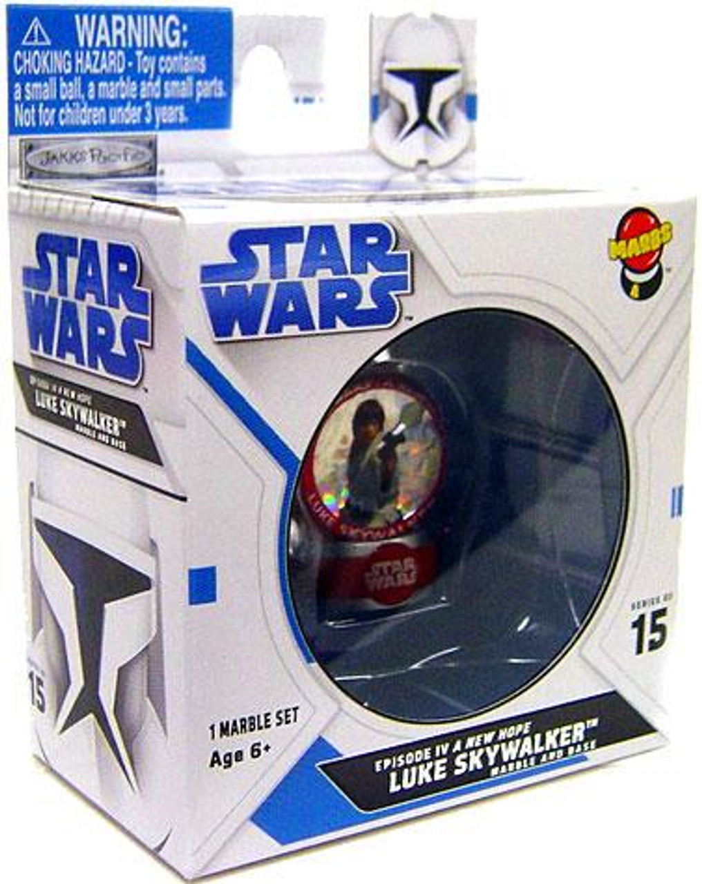 Star Wars A New Hope Marbs Series 2 Luke Skywalker Marble #15