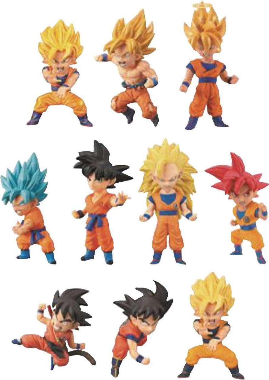 Dragon Ball Super Wcf Gokus Many Forms 2 5 Mystery Box 15