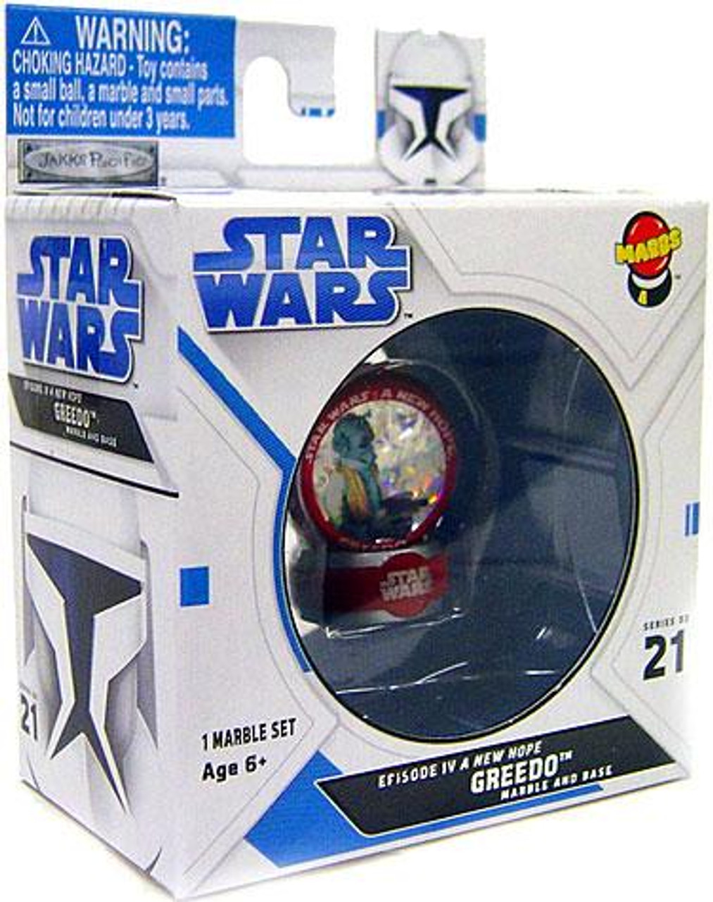 Star Wars A New Hope Marbs Series 2 Greedo Marble #21