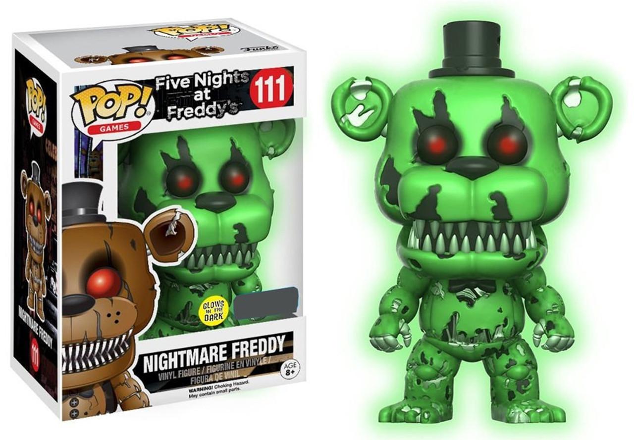 Funko Five Nights At Freddys Funko Pop Games Nightmare