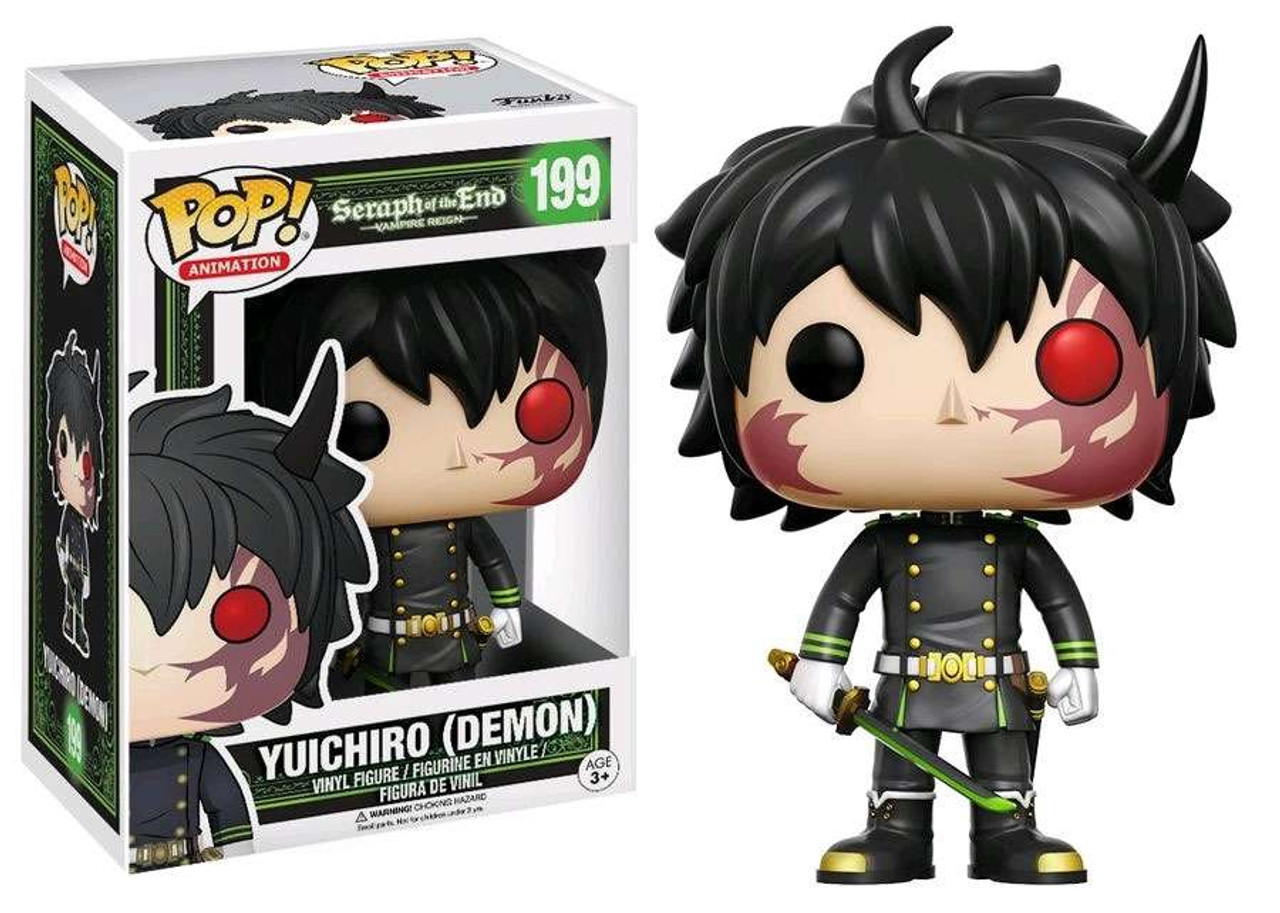 Funko Seraph Of The End Funko Pop Anime Yuichiro Exclusive