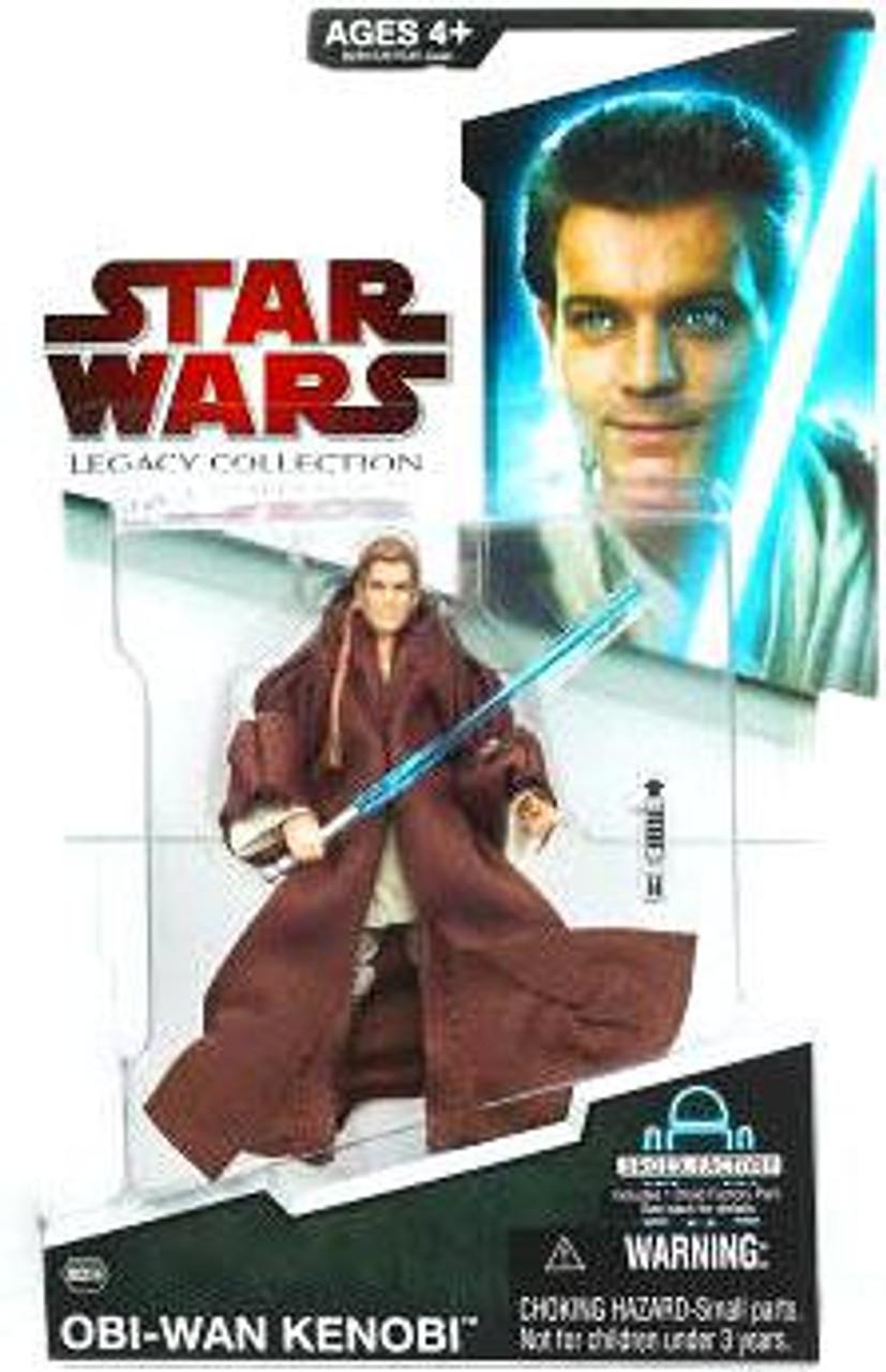 Star Wars The Phantom Menace Legacy Collection 2009 Droid Factory Episode I Obi-Wan Kenobi Action Figure BD06 [Evolution]