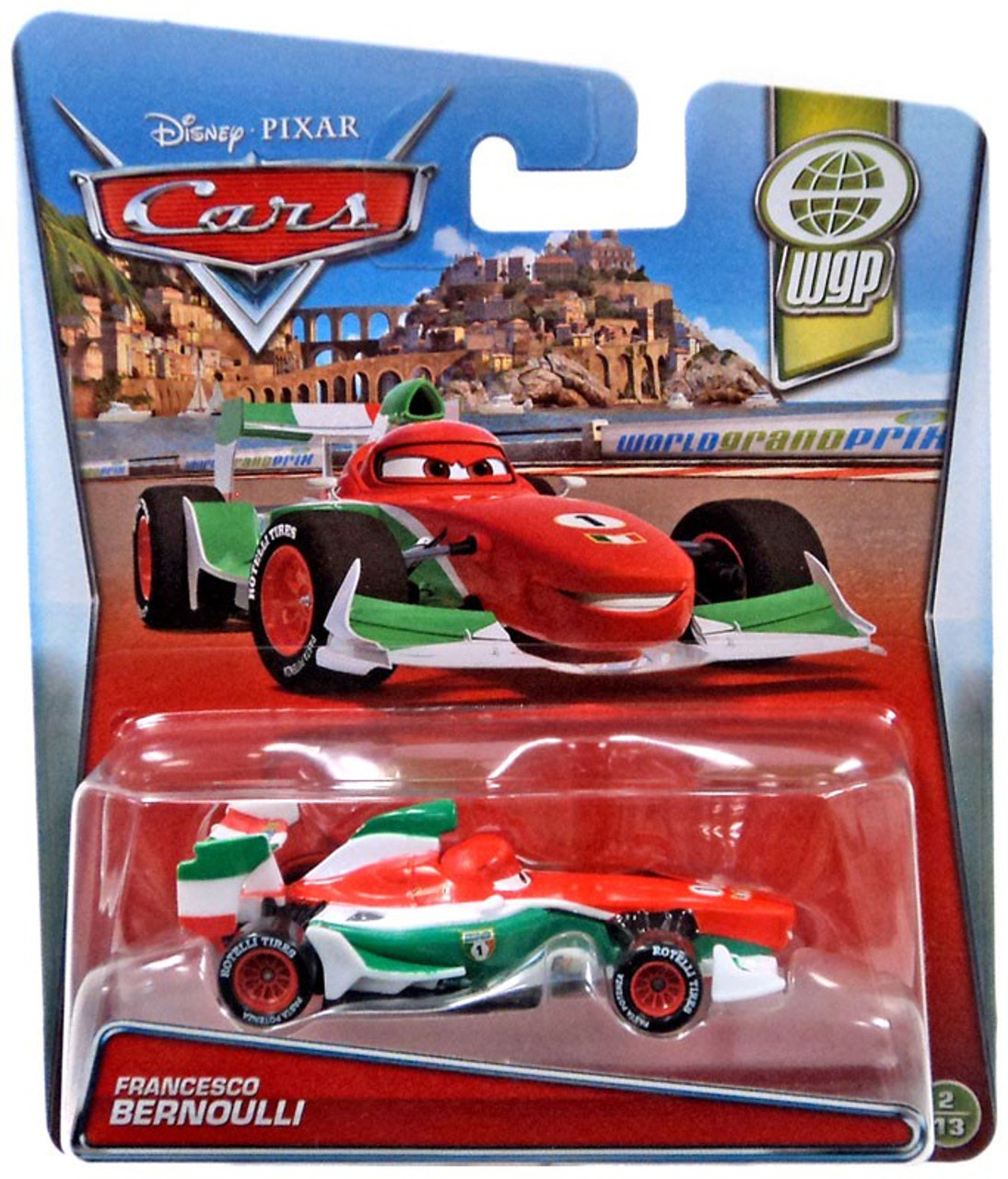 Disney Cars WGP Francesco Bernoulli 155 Diecast Car 213 Mattel ...