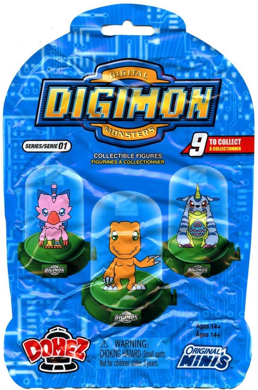 Digimon Domez Digimon Mystery Pack Zag Toys Toywiz