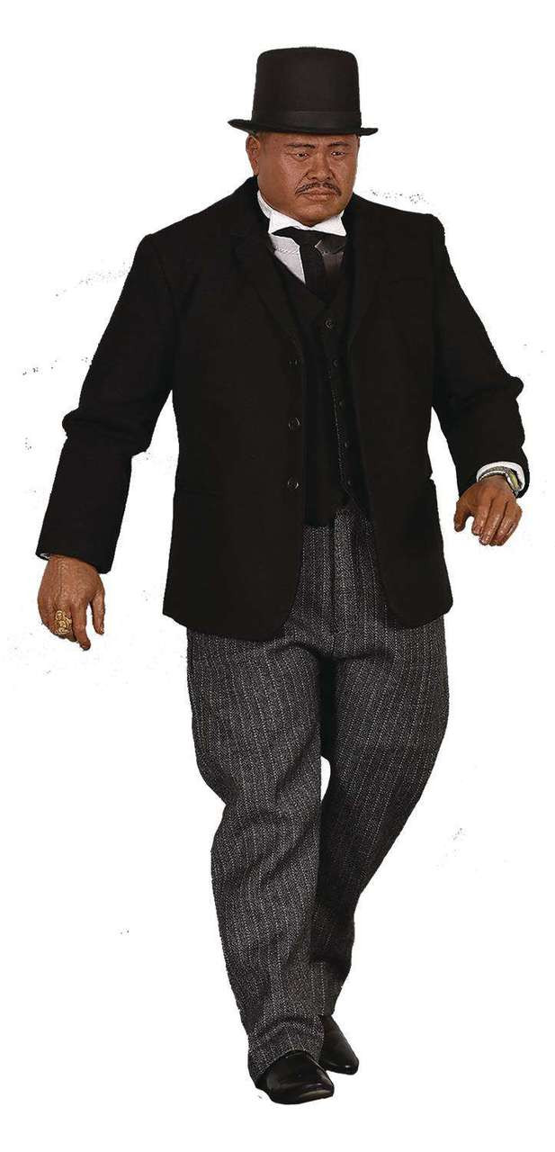 James Bond Goldfinger Oddjob 12-Inch Collectible Figure (Pre-Order ships January)