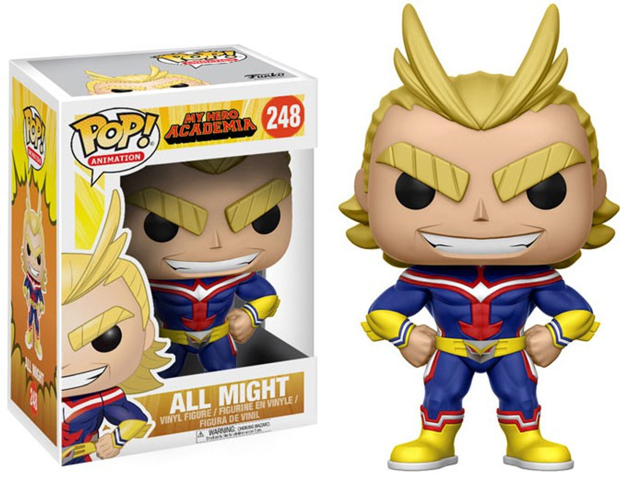 Pop Funko Animation My Hero Academia All Might R 250